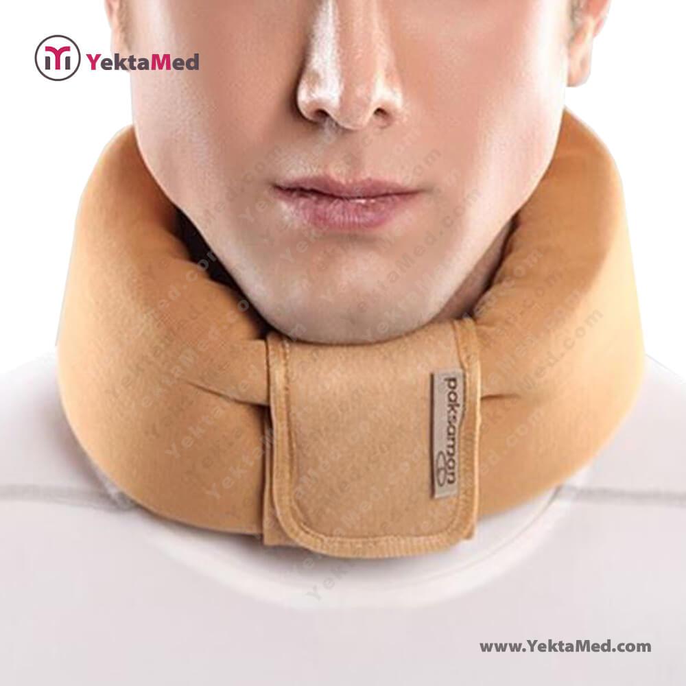 گردن بند طبی نرم پاک سمن کد ۰۴۰