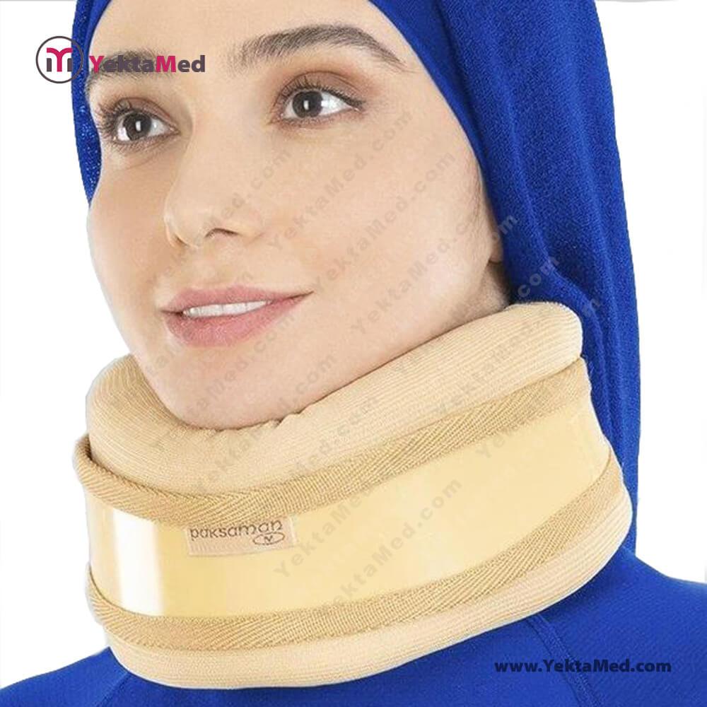 گردن بند طبی نیمه سخت پاک سمن کد ۱۶۵