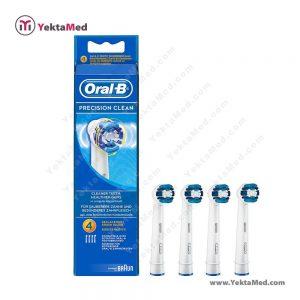سری ۴عددی مسواک برقی اورال بی Precision Clean